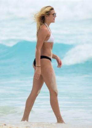 Rachel Hilbert and Devon Windsor in Bikini 2016 -02