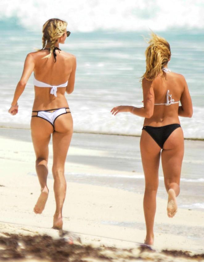 Rachel Hilbert and Devon Windsor in Bikini 2016 -14