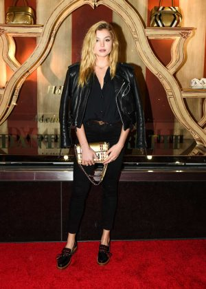Rachel Hilbert - Tod's Fellini-esque Holiday Circus Celebration in NY
