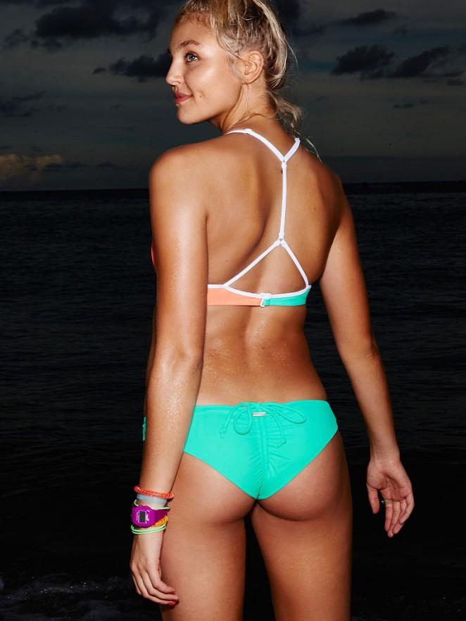 131ad210aa ... Victoria's Secret Photoshoot (November 2015). Rachel Hilbert: VS Bikin  2015 -15