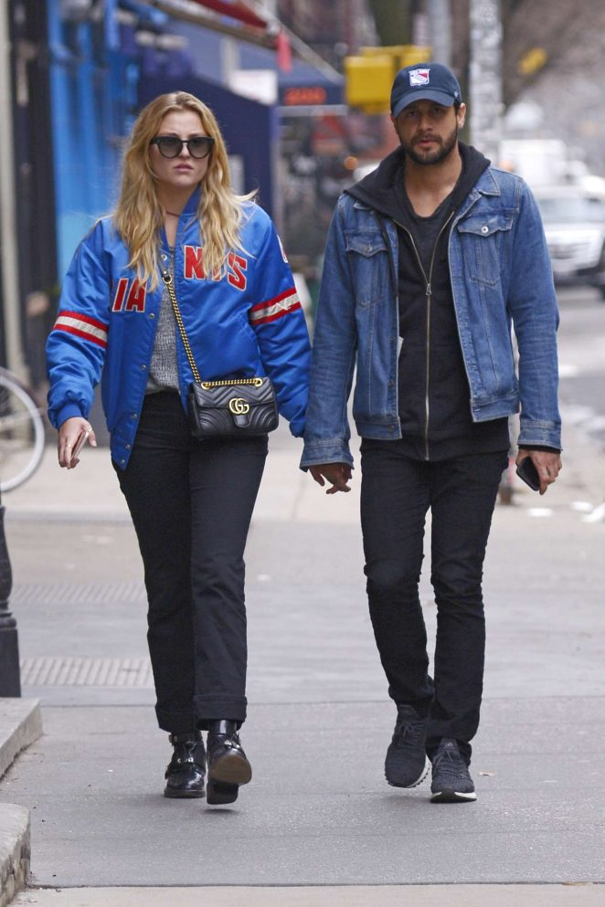 Rachel Hilbert with boyfriend Brett Eldredge out in New York