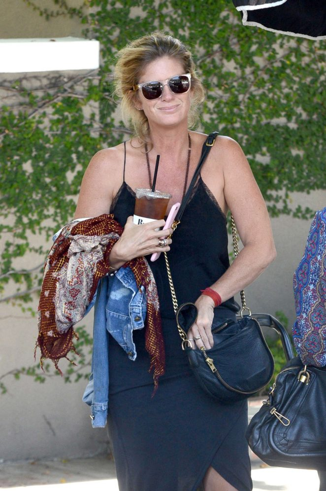 Rachel Hunter - Out in Beverly Hills