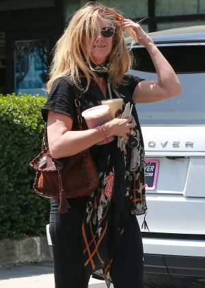 Rachel Hunter out in West Hollywood