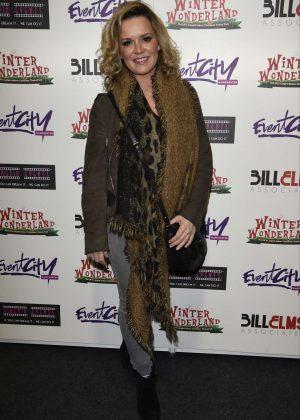 Rachel Lescovak at Winter Wonderland in Manchester