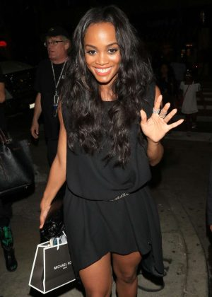 Rachel Lindsay at TAO restaurant in Hollywood