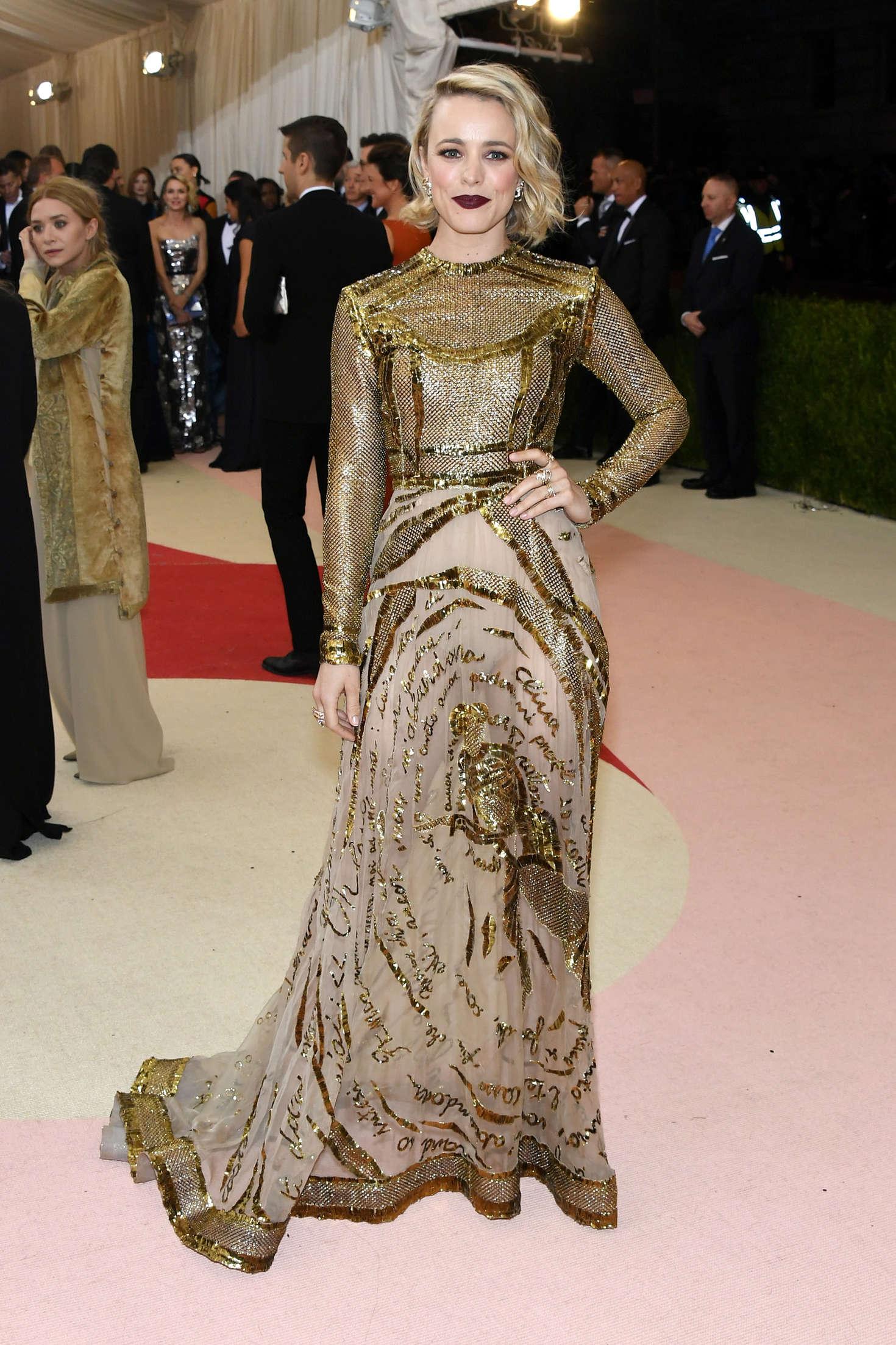 Rachel McAdams 2016 : Rachel McAdams: 2016 Met Gala in NYC -06