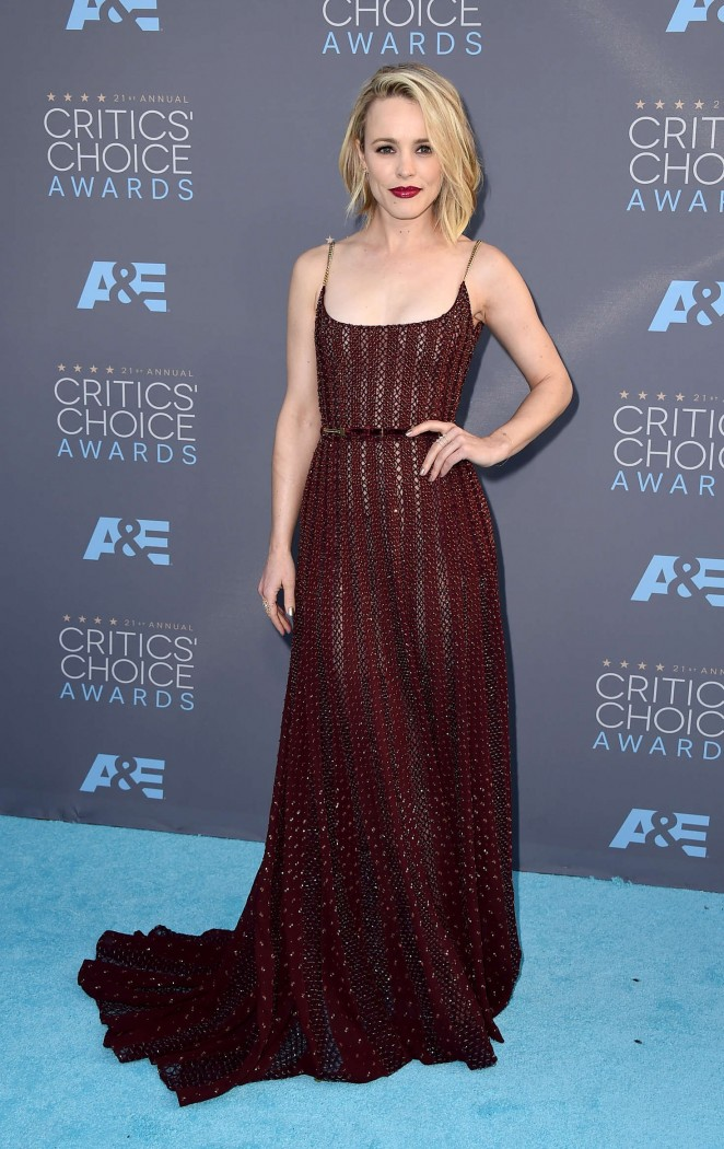 Rachel McAdams - 2016 Critics' Choice Awards in Santa Monica