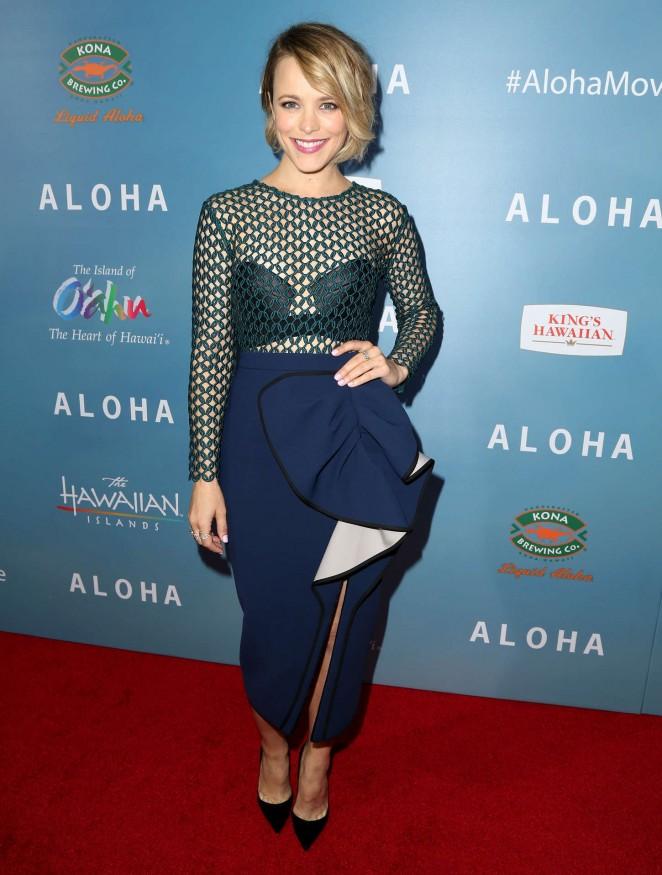 Rachel McAdams - 'Aloha' Screening in West Hollywood