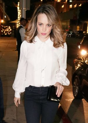 Rachel McAdams - Arrives at Madeo in Los Angeles