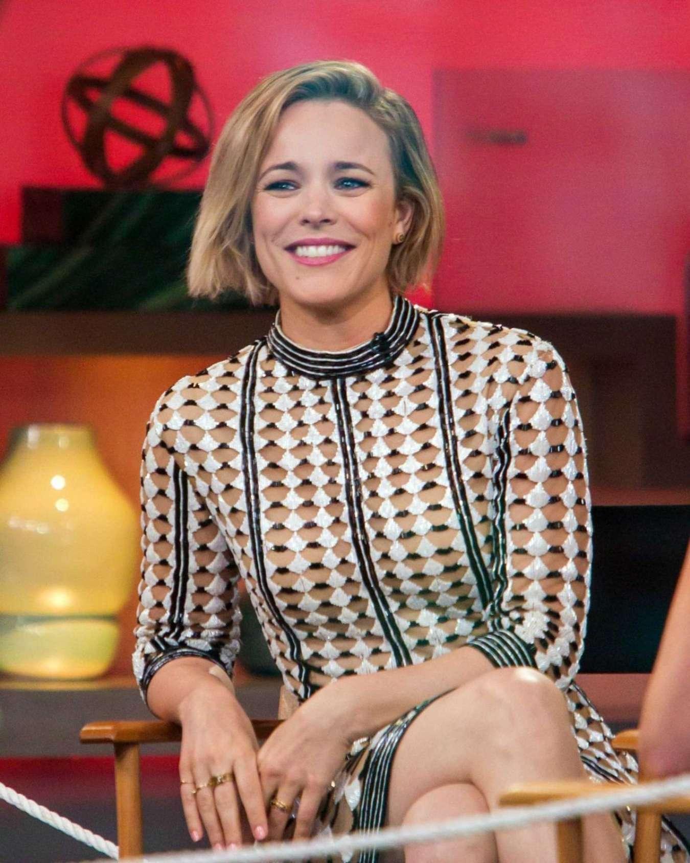 Rachel McAdams 2015 : Rachel McAdams: Good Morning America -02