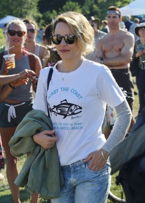 Rachel McAdams - Greenpeace Rally in Vancouver