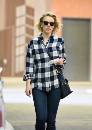Rachel McAdams in Jeans Shopping out in LA