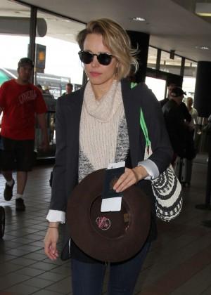 Rachel McAdams - LAX airport in LA