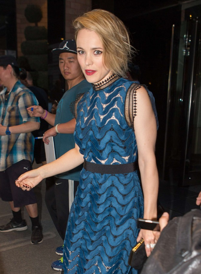 Rachel McAdams - Leaving her hotel in NYC