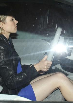 Rachel Mcadams - Leaving Osteria Mozza In Hollywood