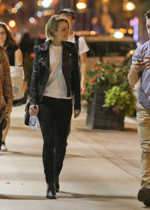 Rachel Mcadams Out And About In Toronto Gotceleb