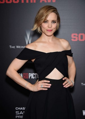 Rachel McAdams - 'Southpaw' Premiere in New York
