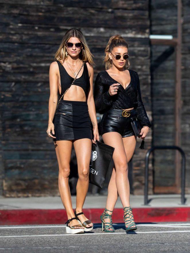 Rachel McCord and Hana Giraldo – Out in Venice
