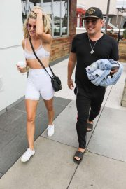 Rachel McCord and Husband Rick Schirmer - Out in Marina Del Rey