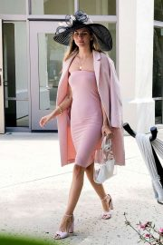 Rachel McCord - Arriving at Easter Sunday Service in Bel Air