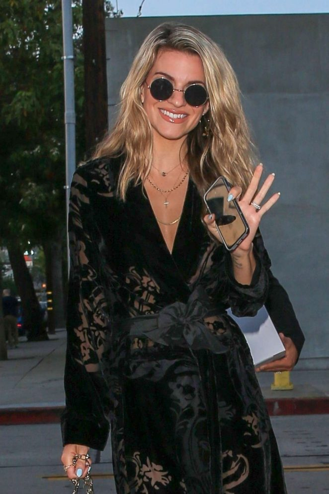 Rachel McCord  - Heading to Craig's in West Hollywood