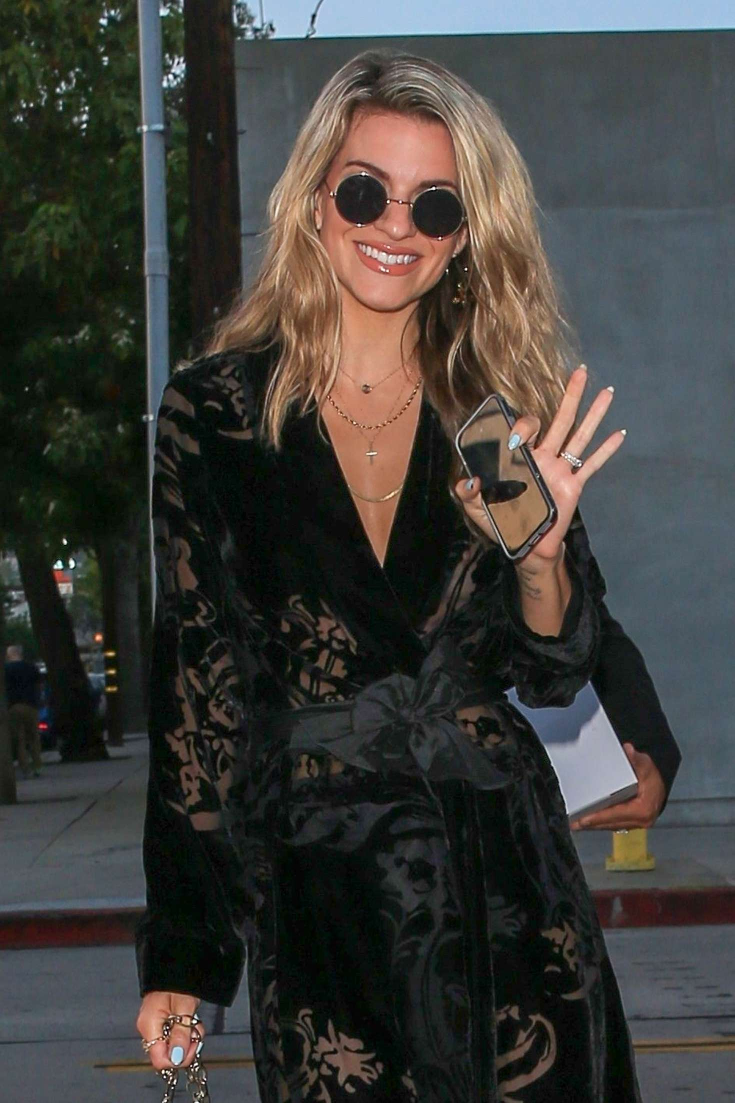 Rachel McCord  – Heading to Craig's in West Hollywood