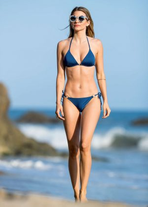 Rachel McCord in Bikini at the beach in Los Angeles