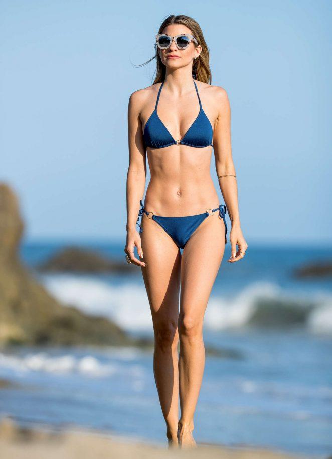 Rachel McCord in Bikini at the beach in Los Angeles