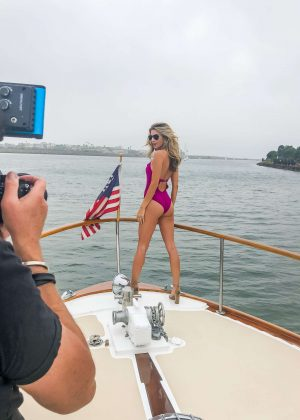 6c4451c1899 Rachel McCord in Swimsuit – Shooting a new campaign for Lovery in ...