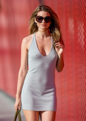 Rachel McCord in Tight Mini Dress out in Los Angeles