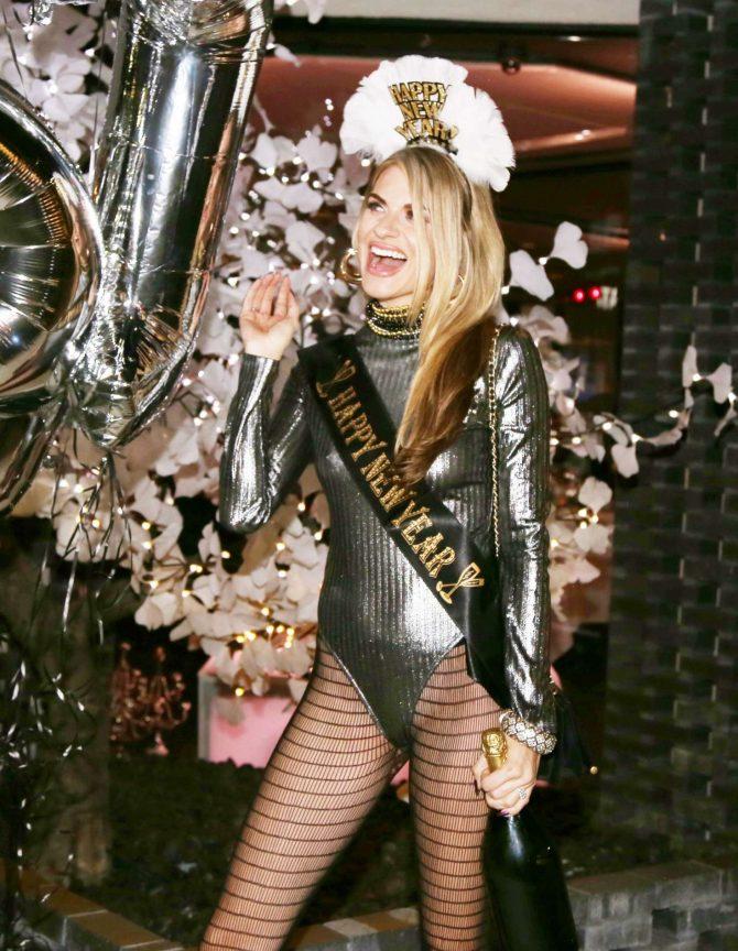 Rachel McCord – New Year Celebration at Crustacean Beverly Hills