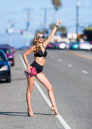 Rachel McCord - Photoshoot Candids in Malibu