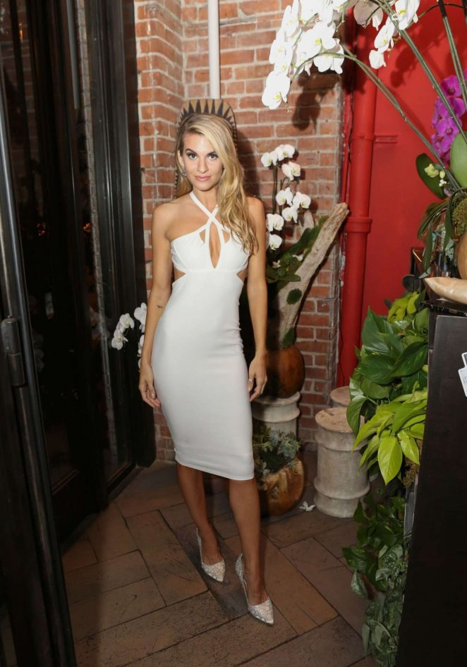 Rachel McCord – Wild Spirit Fragrance Holiday Collection Dinner in West Hollywood