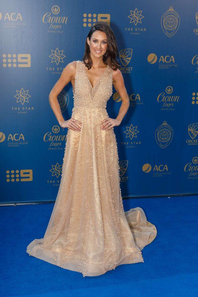 Rachel McLellan - Allan Border Medal 2017 in Sydney