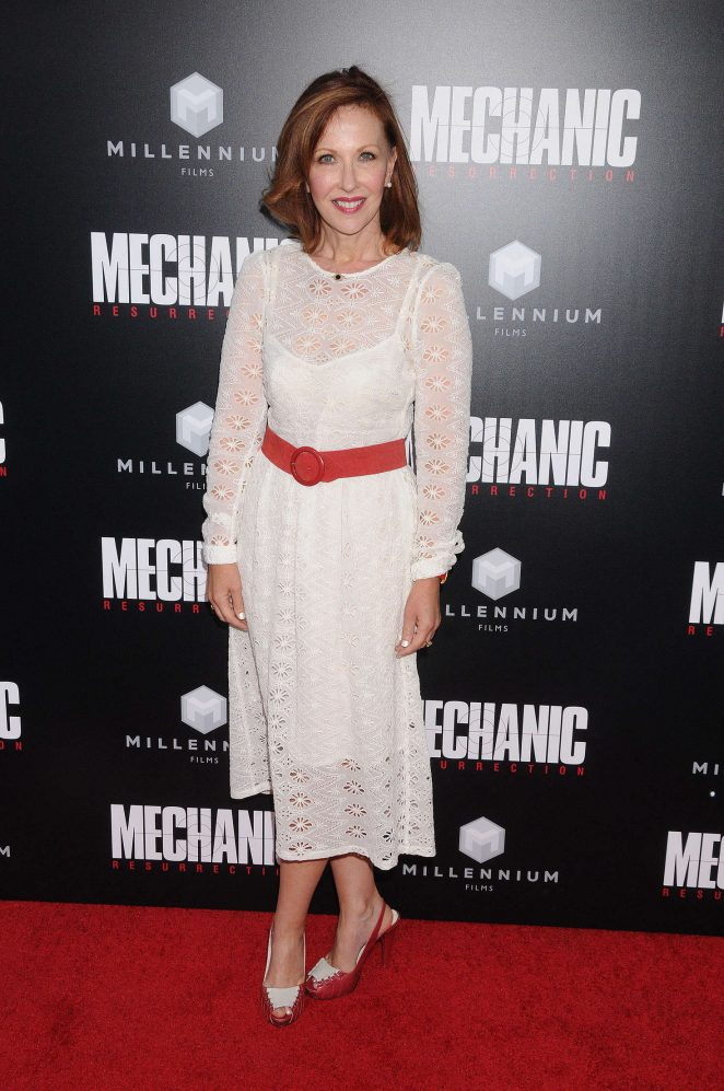 Rachel O'Meara - 'Mechanic: Resurrection' Premiere in Los Angeles