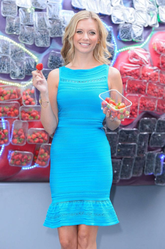 Rachel Riley - British Summer Fruits Berry Brainy Event in London