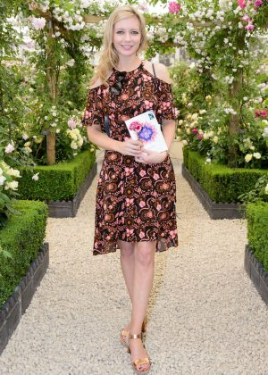 Rachel Riley - Chelsea Flower Show in London