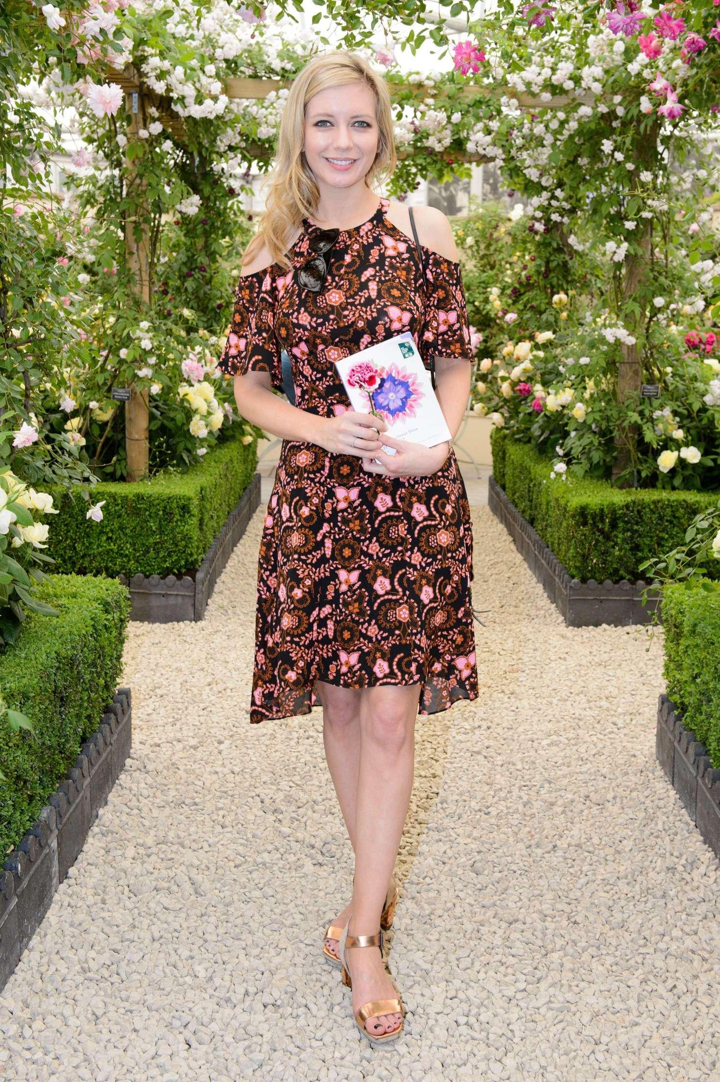 Rachel Riley - Chelsea Flower Show in London