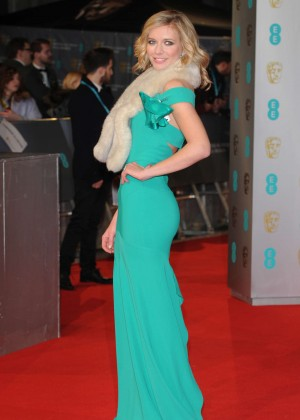 Rachel Riley - 2015 BAFTA Awards in London