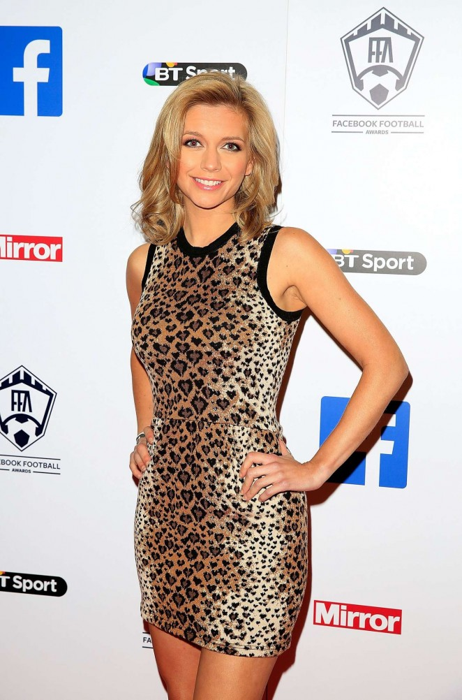 Rachel Riley - Facebook Football Awards in London