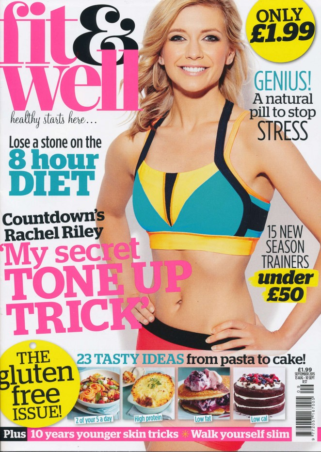Rachel Riley - Fit and Well Magazine (September 2015)
