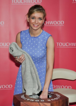 Rachel Riley - Hosts Top Swap Clothing Drive at Touchwood
