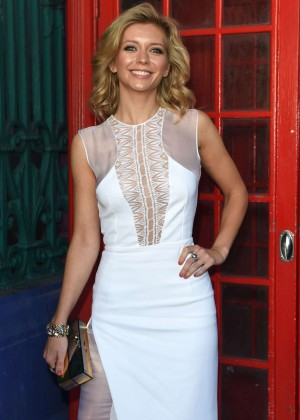 Rachel Riley - Julien MacDonald Fashion Show in London