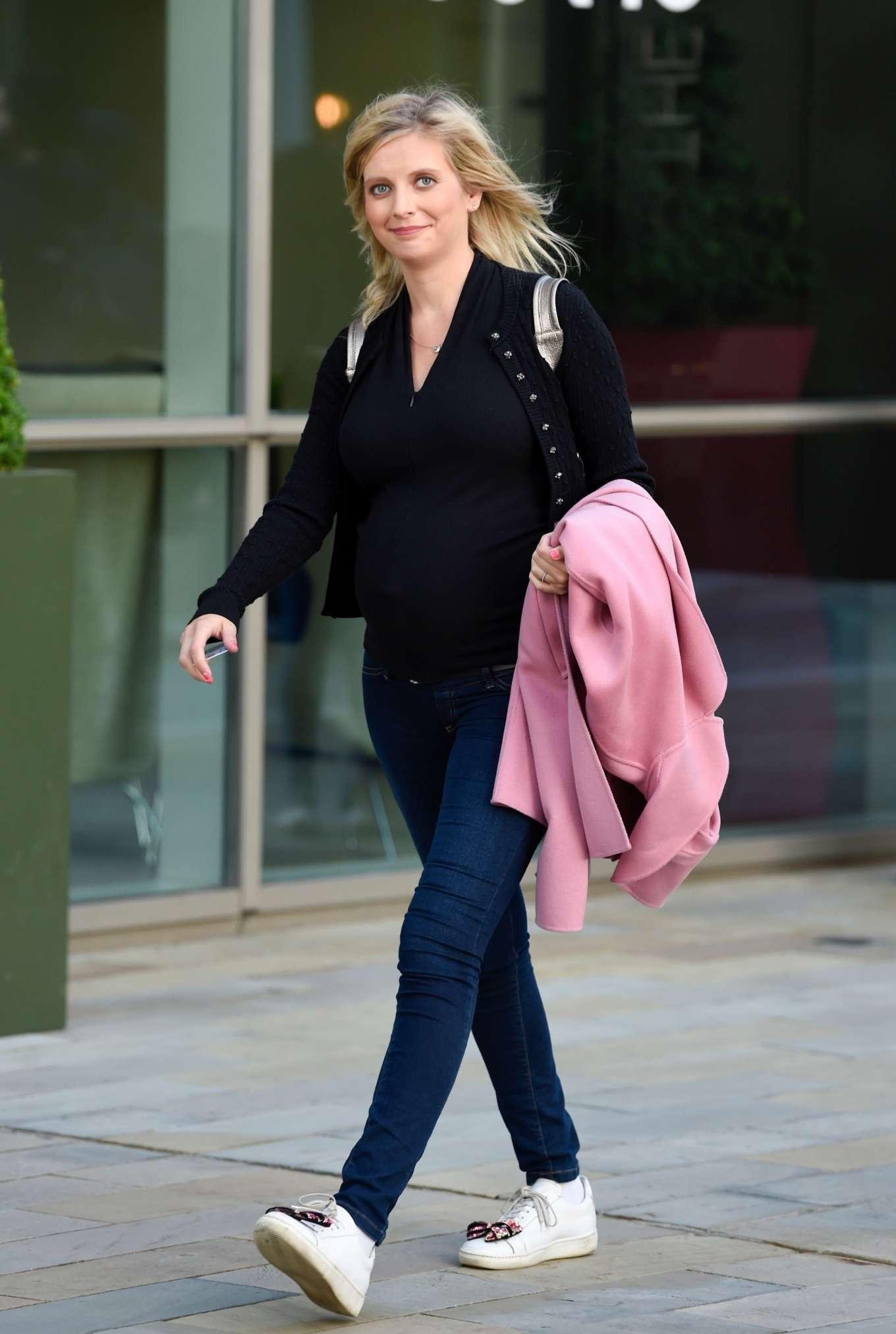Rachel Riley - Leaves Countdown Filming at Media City