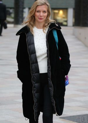Rachel Riley - Outside ITV Studios in London