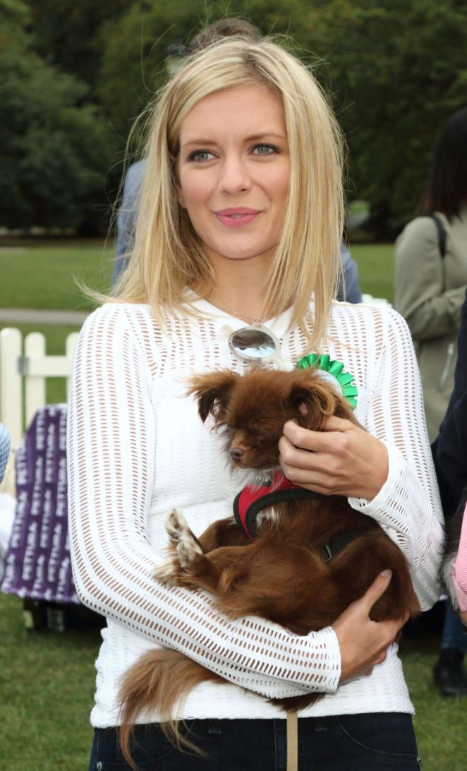 Rachel Riley - PupAid Puppy Farm Awareness Day in London