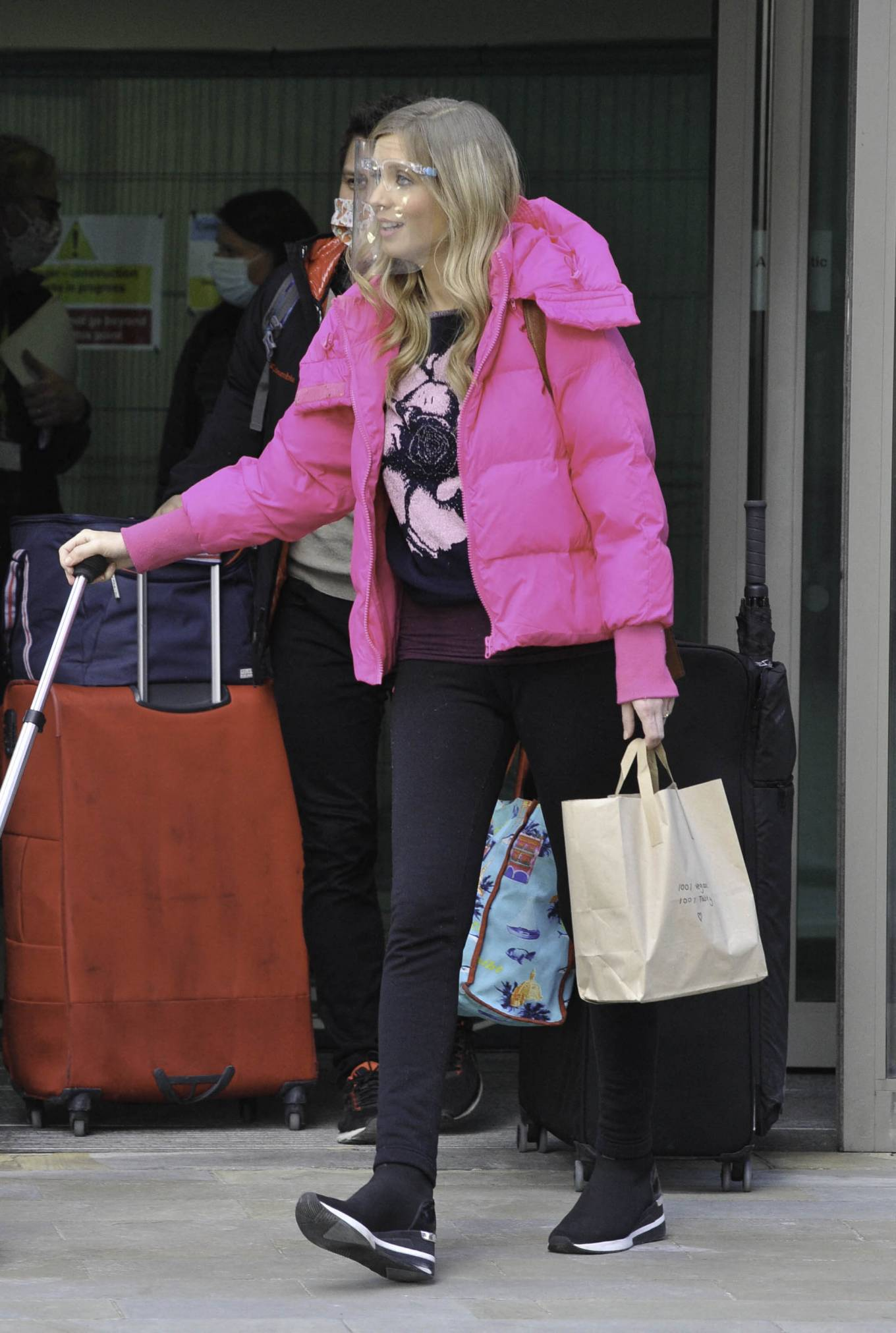 Rachel Riley - Seen as she leaves Countdown studios in Manchester
