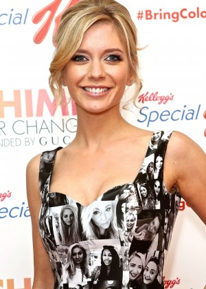 Rachel Riley - Special K Bring Colour Back Launch in London