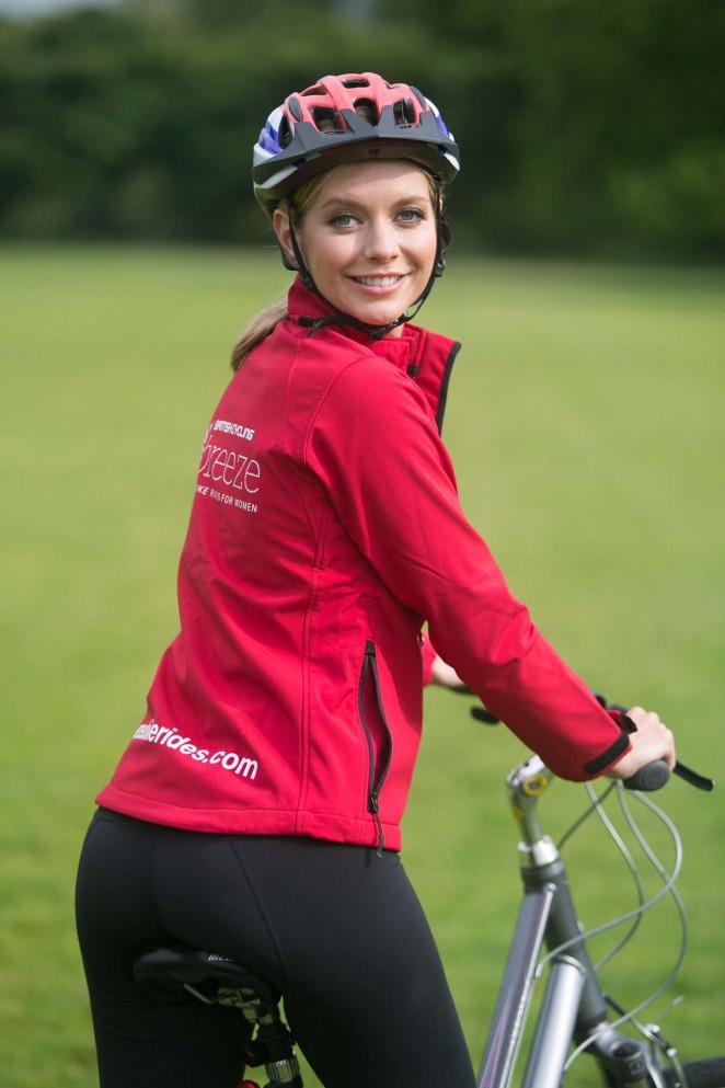 Rachel Riley - Unveiled as British Cycling's Breeze Ambassador