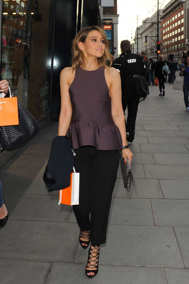 Rachel Stevens: New Folli Follie Flagship Store on Oxford St Launch -11